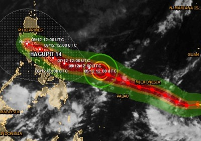 Alerte rouge cyclone tropical aux Philippines HAGUPIT-14