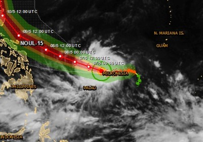 Alerte rouge pour Cyclone tropical aux Philippines - NOUL-15